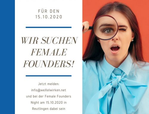 15. Oktober 2020 – Female Founders Night