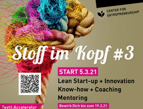 Stoff im Kopf #3 Center for Entrepreneurship Reutlingen